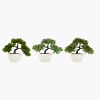 Plante artificielle BONSAI H26cm ass.