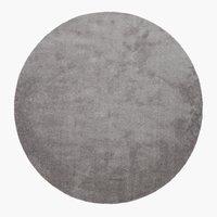 Teppich VILLEPLE Ø180 grau