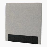 Sengegavl H30 CURVE 120x125 grå-29