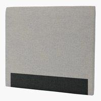 Sengegavl H30 CURVE 150x125 grå-29