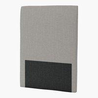 Sengegavl H30 CURVE 90x125 grå-21