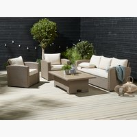 Lounge-Set VEMB 5 Pers. natur
