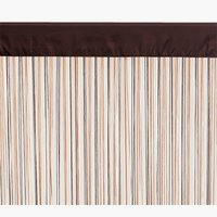 Nitková záclona NISSER 140x245 hnedá