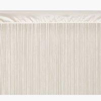 Provázková záclona NISSER 140x300 krém.