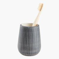 Стакан для зубных щеток HASSELA серый