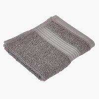 Waschlappen KARLSTAD 30x28 grau