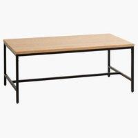 Coffee table TEBSTRUP 60x110 oak/black