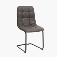 Krzesło HURUP szary/czarny