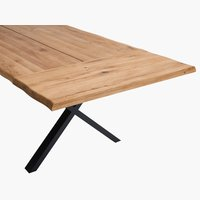 Extensión de mesa ROSKILDE 95x50 roble
