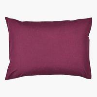 Kissenbezug Satin 65x65 violett KRONBORG
