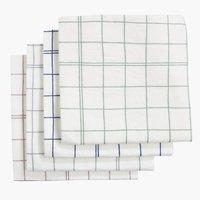 Кърпа за почистване ELIOT 38x38 4 бр/п-т