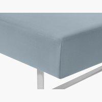 Lenzuolo Jersey 90x200x32cm blu polvere