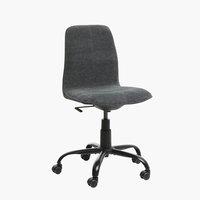 Cadeira escritório SEJET baixo cinz esc