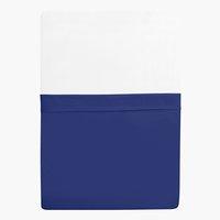 Sábana Percal 210x265cm azul oscuro