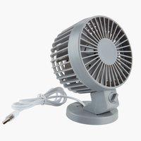 Ventilátor NIELSEN Š7xD10xV13 cm šedá
