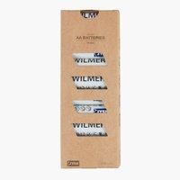 Batterijen WILMER AA 10 st/pk