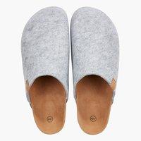 Pantoffels CATO maat 36-45 grijs