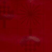 PVC-prt GULDSTEN 140 cm rdeča