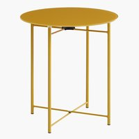 End table HORNSYLD D42 yellow