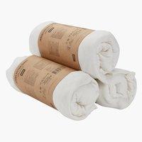 Jersey sheet SGL white