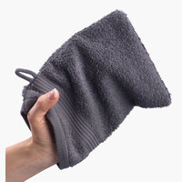 Washing glove KARLSTAD grey