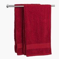Ręcznik KARLSTAD 50x100cm czer. KRONBORG
