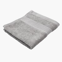 Face cloth KARLSTAD light grey KRONBORG