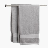 Bath sheet KARLSTAD light grey KRONBORG