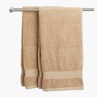 Bath sheet KARLSTAD beige KRONBORG