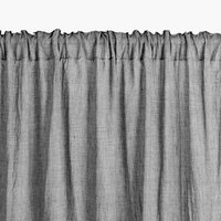Curtain HIRSHOLM 1x135x245 grey