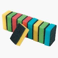 Cleaning sponge KALUKA 10 pack