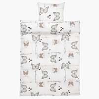 Duvet cover SIGNE Sateen 140x200 brown