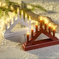 XMAS Candle arch EPIDOT w/7LED ass.SDP