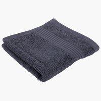 Ręcznik KARLSTAD 28x30cm szary KRONBORG