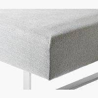 Jerseylagen 140/150x200x40cm grå melange