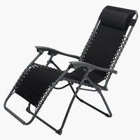 Релаксиращ стол HALDEN черен