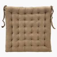 Chair cushion ANTEN 43x43x5cm brown