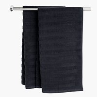 Bath sheet TORSBY black