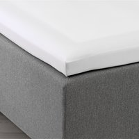 Kuvertlakan satin 300TC 180x200x6-10 vit