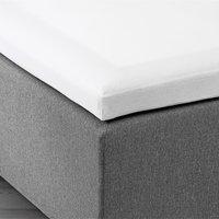 Kuvertlagen 140x200x6-10cm hvid