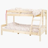 HJALLERUP complete bunk bed + BASIC F40