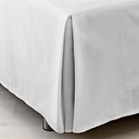 Valance sheet KING white KRONBORG