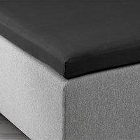 Overmadrasslaken 150x200x6-10 svart