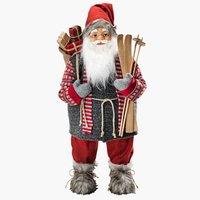 Santa Claus TITANIT H80cm w/ski