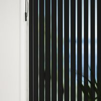 Vertical Blind ROGEN 250x250cm black