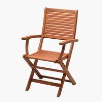 Krzesło składane VANTORE drewno tw.