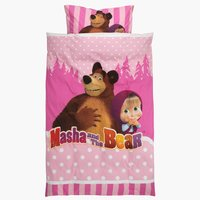 Lenjerie de pat MASHA AND THE BEAR