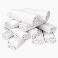 Lagen 135x240cm hvid