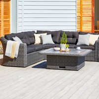 Lounge set TAMBOHUSE 5 pers. grey