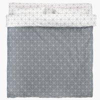 Спално бельо с чаршаф ATLA DBL сиво
